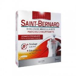 Saint-bernard douleurs musculaires patchs chauffants 2 patchs