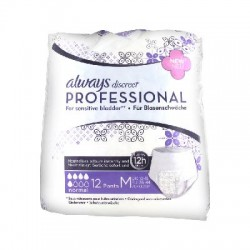 Always discreet professional normal taille m 12 protections incontinence