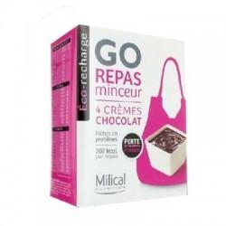 Milical shaker recharge chocolat go repas x4
