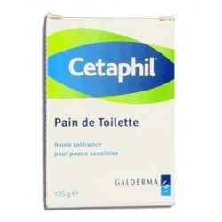 Cetaphil pain toilette peau sensible 125g