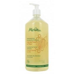 Melvita shampooing familial extra-doux miel de fleurs tilleul 1 litre