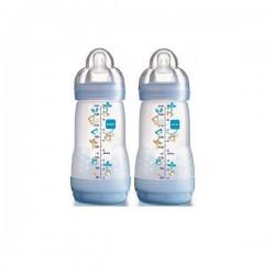 Mam 2 biberons anti colique 260 ml 0 à 6 mois