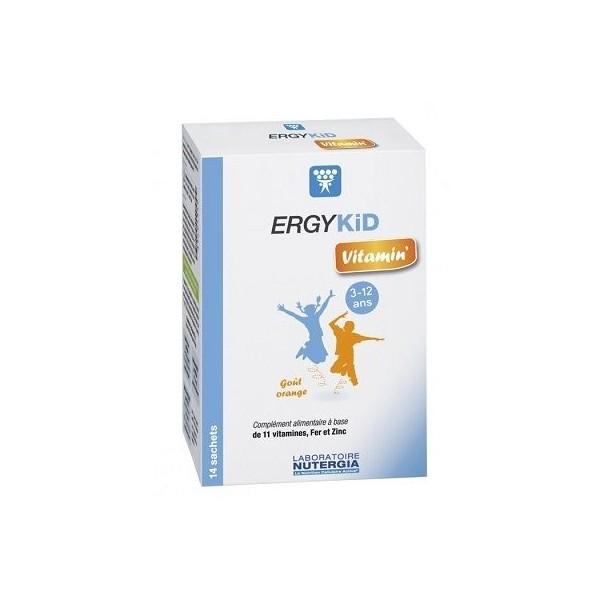 Nutergia ergykid vitamin - 14 sachets