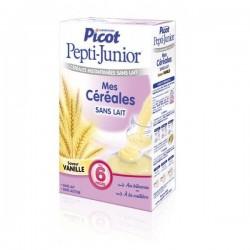 Picot céréales vanille sans lait pepti junior 300 g dès 6 mois
