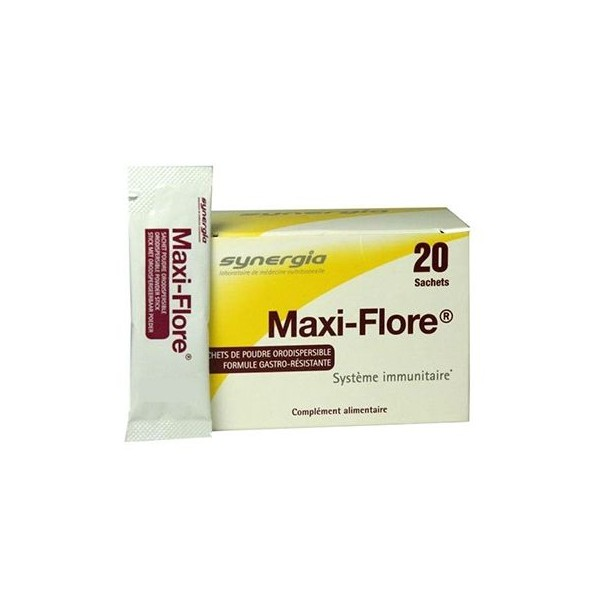 Synergia maxi-flore 20 sachets