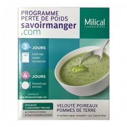 Milical lcd soupe poireaux pommes de terre 4 sachets