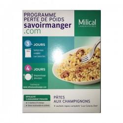 Milical lcd pâtes champignons 4 sachets