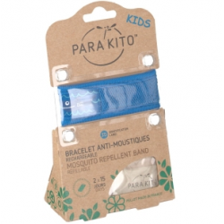 Para kito bracelet anti-moustique kids + 2 recharges