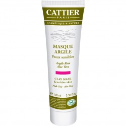 Cattier masque argile rose 100ml