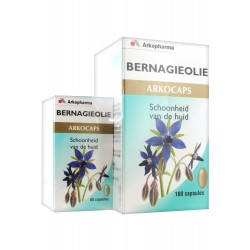 Arkopharma arkogélules huile de bourrache 180 capsules + 60 capsules offertes