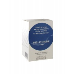 Granions melatonine 1 mg 60 gélules