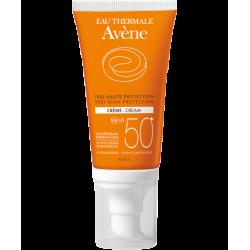 Avène crème solaire très haute protection spf 50+ sans parfum 50ml