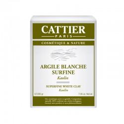 Cattier argile blanche surfine kaolin 200 g