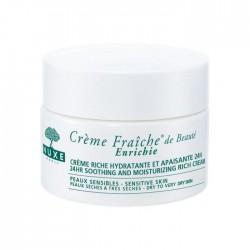Nuxe crème fraiche peaux sensible et peaux sèches 50 ml