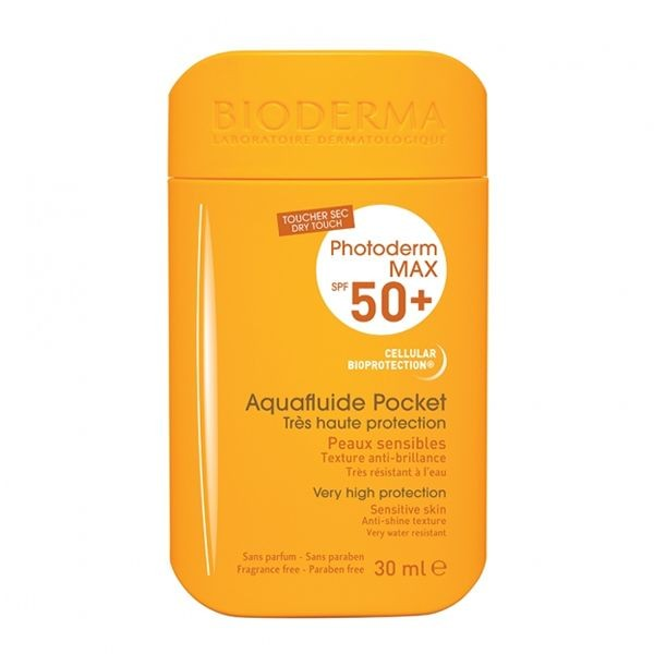 Bioderma photoderm max spf 50+ aquafluide pocket 30 ml