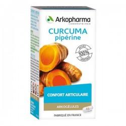 Arkogélules curcuma 45 gélules