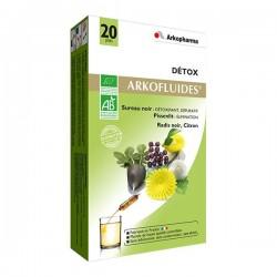 Arkofluide detox bio ampoules 20 x 15 ml