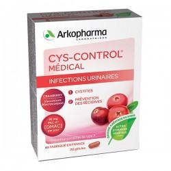 Arkopharma cys control gènes urinaires 20 gélules