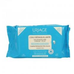 Uriage lingettes démaquillantes peaux normales à sèches