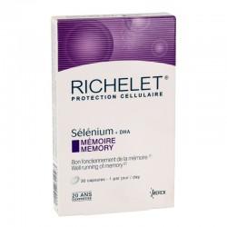 Richelet protection cellulaire mémoire 30 capsules