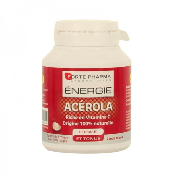 Forté pharma énergie acérola offre 60 comprimés