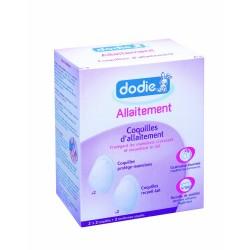 Dodie 4 coquilles d'allaitement