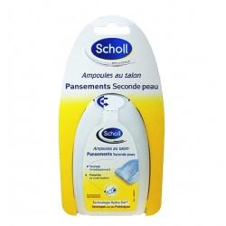 Scholl pansements seconde peau ampoules au talon x 5