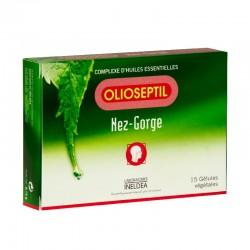 Olioseptil nez et gorge 15 gélules