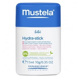 Mustela bébé hydra stick au cold cream nutri protecteur 10g