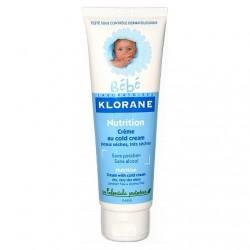 Klorane crème nutritive au cold cream 125ml