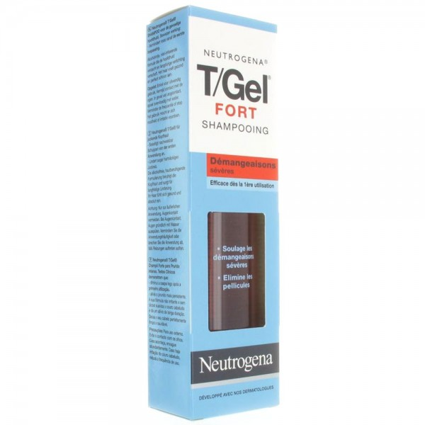 Neutrogena gel fort shampooing démangeaisons sévères 250ml