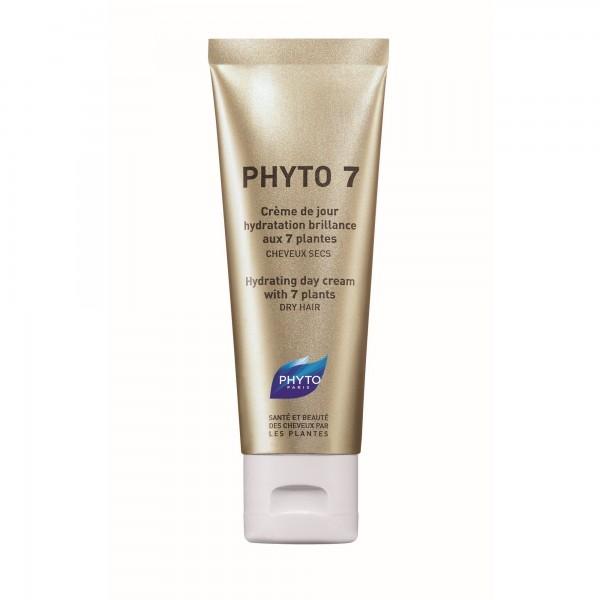 Phyto 7 crème de jour hydratation brillance cheveux secs 50ml