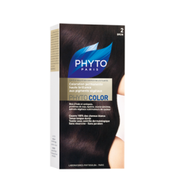 Phyto color couleur soin 2 brun kit