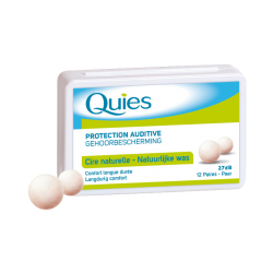Quies cire naturelle protection auditive 12 paires