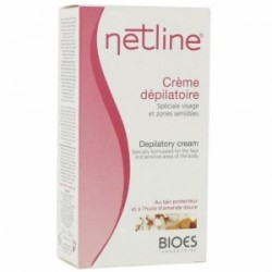 Netline crème décolorante duvet sombre visage corps 75ml