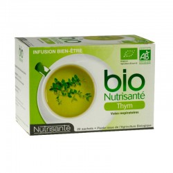 Nutrisante infusion bio thym 20 sachets