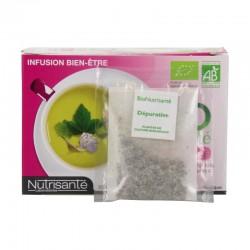 Nutrisante infusion bio dépurative 20 sachets