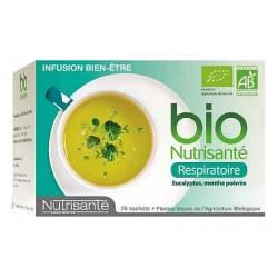 Nutrisante infusion bio respiratoire 20 sachets