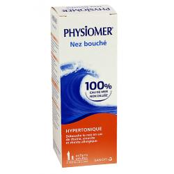 Physiomer nez bouché spray hypertonique 135ml