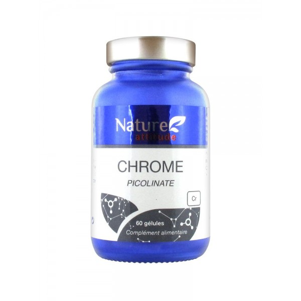Nature Attitude Chrome Picolinate 60 Gélules