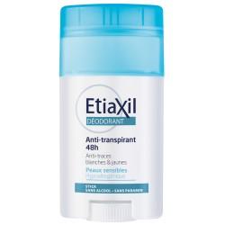 Etiaxil Déodorant Anti-Transpirant 48H Peaux Sensibles Stick 40 ml