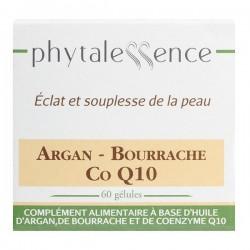 Phytalessence Argan Bourrache Co Enzyme Q10 60 Gélules