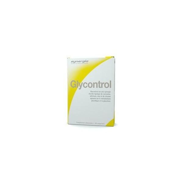 SYNERGIA Glycontrol 30 comprimés