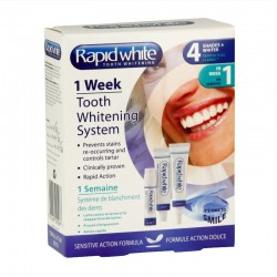 Rapid White 1 semaine systeme de blanchiment des dents