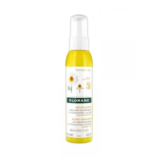 Klorane Reflets Blonds Soin Soleil Éclaircissant 125 ml
