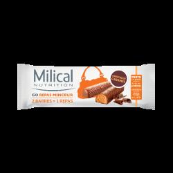Milical Go Barres Minceur x2 Céréales- Abricolt
