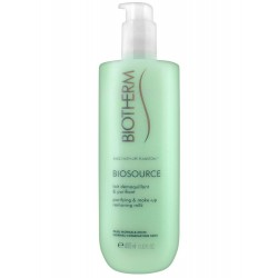 Biotherm Biosource Lait Démaquillant & Purifiant 400 ml