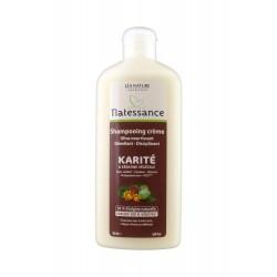 Natessance Shampooing Crème Karité et Kératine Végétale 250 ml