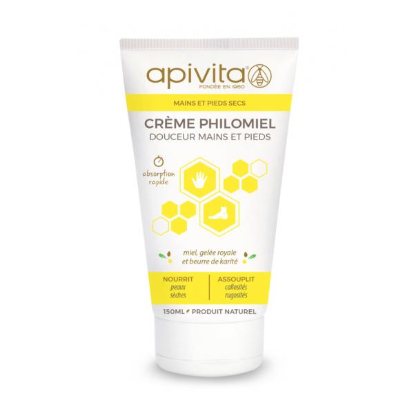Apivita Crème Philomiel douceur mains et pieds 150ml