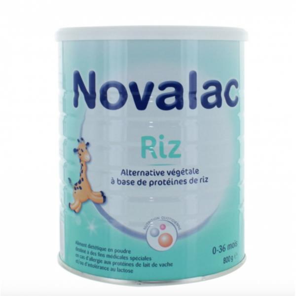 Novalac riz 0-36 mois 800g